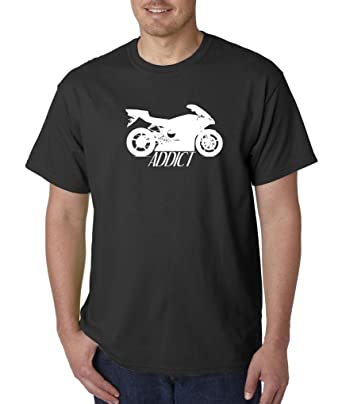 Addict Clothing Motorcycle Rice Burner Sport Bike T