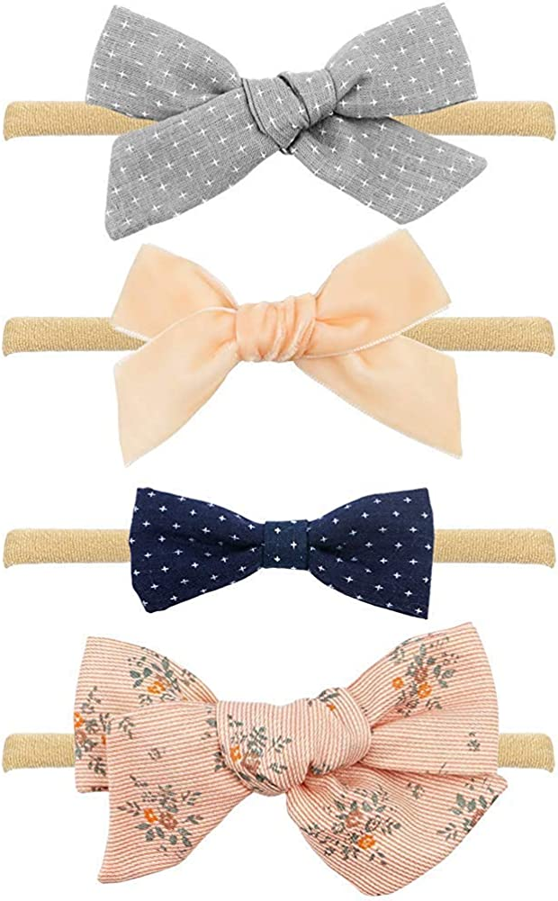 20X//lot Baby Infant Girl Costume Toddlers Hair Bows Clips Xmas ChristmasRS