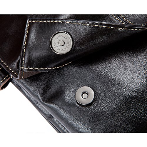 cuero Crossbody Present Messenger Leather Mens Cowhide Soft Bag Boyfriend Shoulder Working Tablet Holiday Luxury First Zhuhaitf Hiking Gift Birthday dUq47d