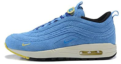 Air Max 97 1 Wotherspoons Powed Blue AJ4219-400 Chaussures de Gymnastique Homme Femme