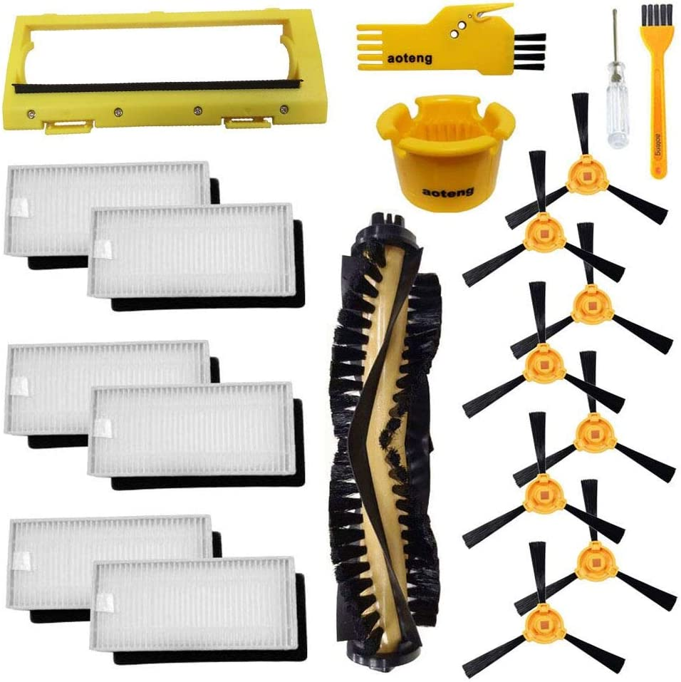 set 2 aoteng 060 Accessories for Ecovacs Deebot N79 N79S DN620 DN621 DN622 Robot Vacuum Cleaner Replacement Parts