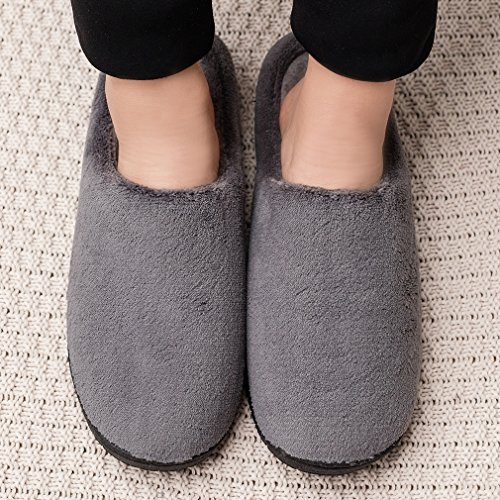 Pictures of Men's Wool Plush Slippers | Fleece Lined SL00234647G 7
