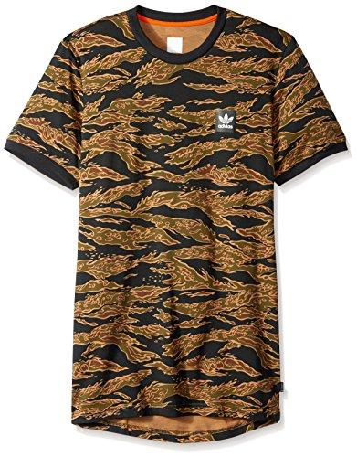adidas Originals Mens Skateboarding Camo All Over Print Tee
