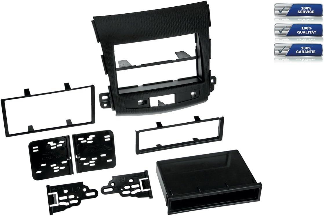 Niq 2 Din Radioblende Für Mitsubishi Outlander Elektronik