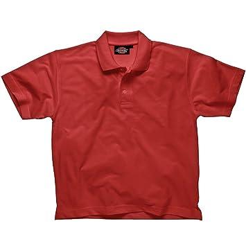 Dickies - Camisa de polo, rojo, pequeño: Amazon.es: Bricolaje y ...