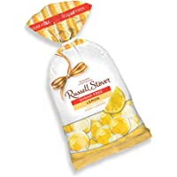 Russell Stover Sugar-Free Lemon Wedges Hard Candies, 12 Ounce Bag, Individually Wrapped Sugar-Free Lemon Hard Candy Sweetened with Stevia