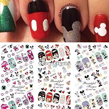 Amazon 3 In 1 Water Transfer Decal Stickers Nail Art Manicure