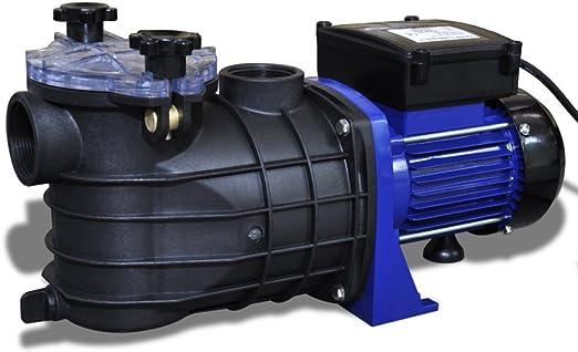 Festnight Bomba de Piscina El/éctrica 500W 230 V 50 Hz Color Azul