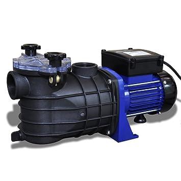 Bomba de Piscina Eléctrica 500W Azul: Amazon.es: Bricolaje y herramientas