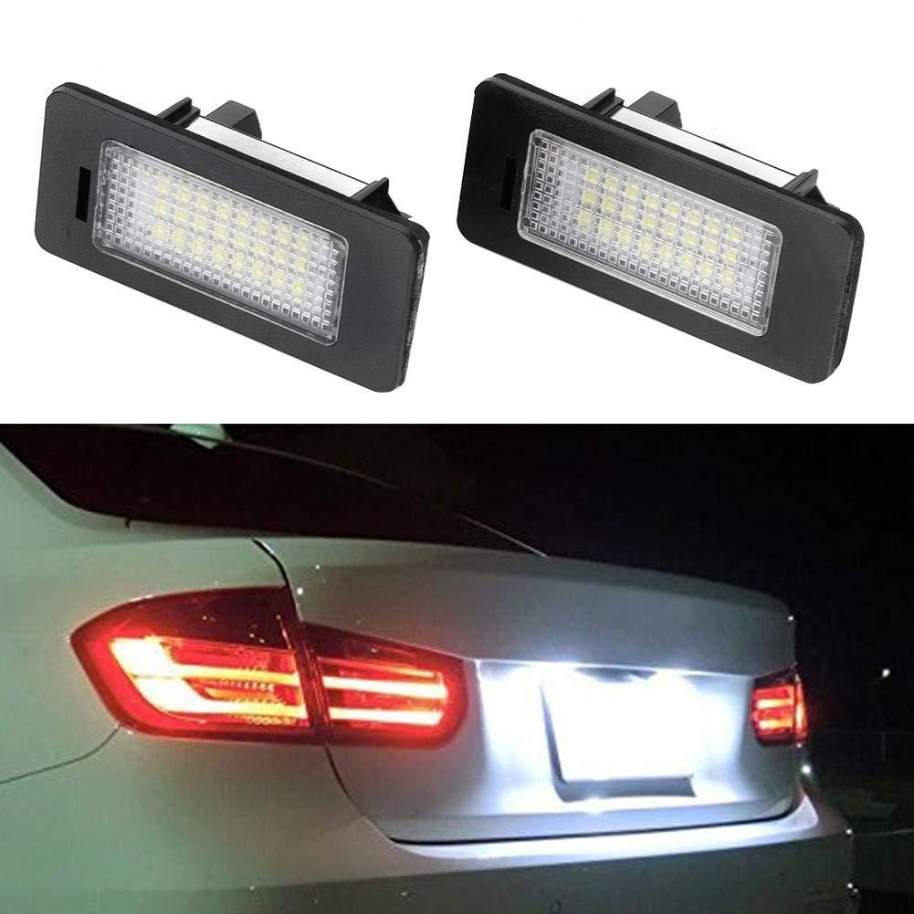 63267193293 EBTOOLS L/ámpara de luz de matr/ícula LED 14V 2.8W Luz de se/ñal de repuesto para E39 E82 E92 E93