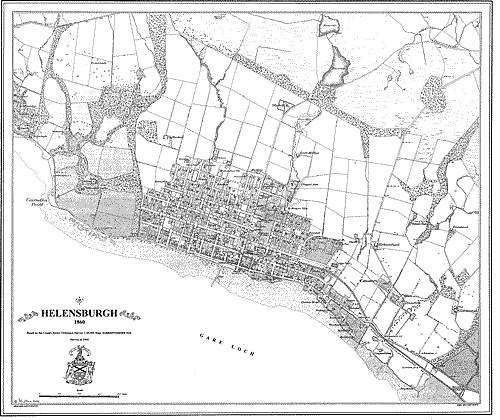 Helensburgh 1860 Map (Heritage Cartography Victorian Town Map Series) ebook