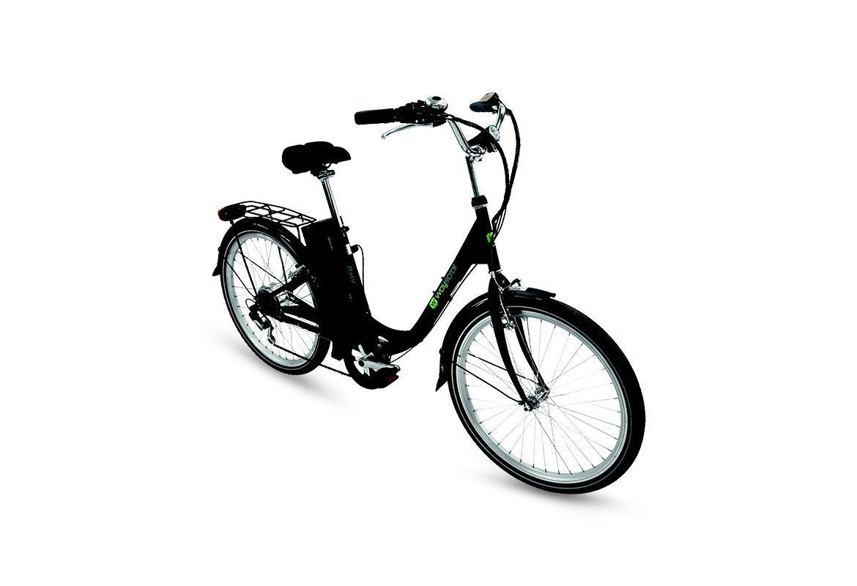 Bicicleta eléctrica Wayscral Basy 315, 24 V, negro: Amazon.es: Deportes y aire libre