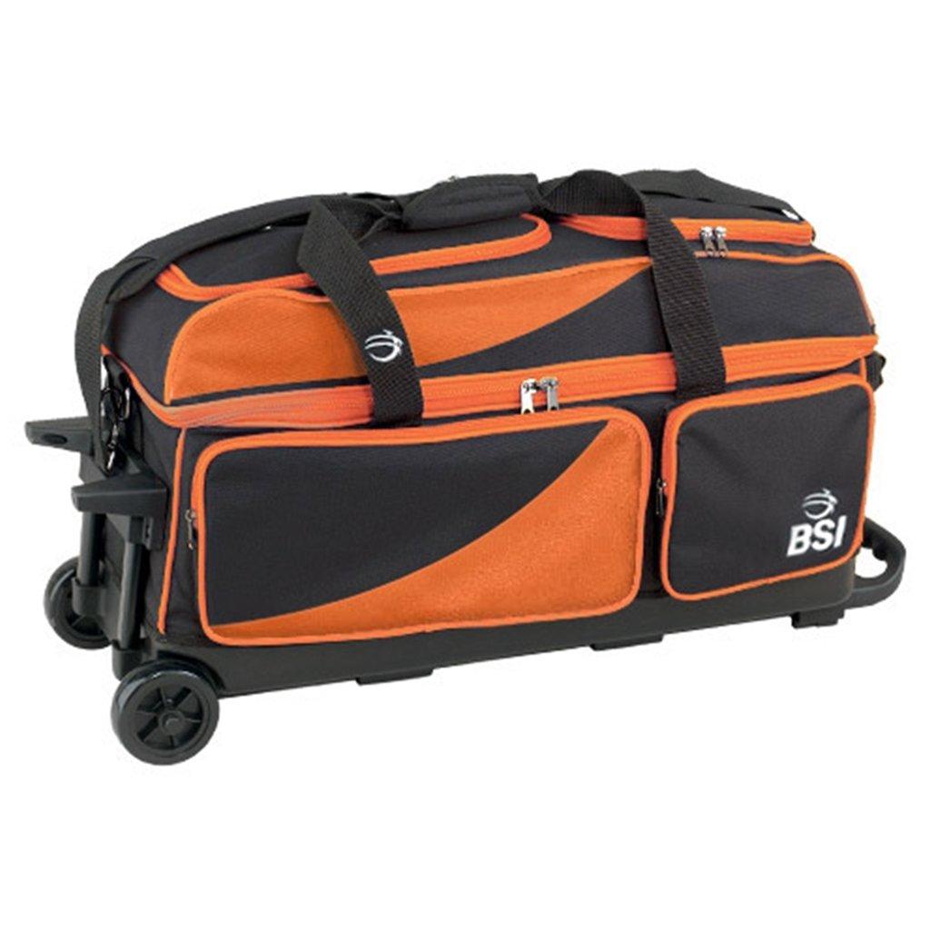 【超お買い得!】 BSI Prestige Prestige 3ボールローラーBowling B011AGNRTS bag-ブラック/オレンジ BSI ブラック/オレンジ B011AGNRTS, ジュエルジェミングJewelGeming:eb8ce3ed --- berkultura.ru
