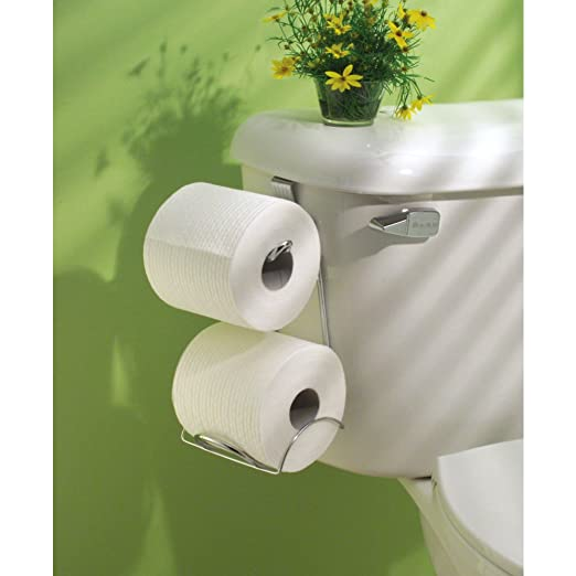 Interdesign Classico Bathroom Over Tank Toilet Paper Holder Double