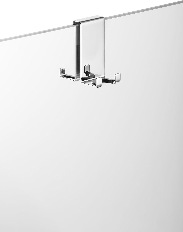 AVENARIUS - Soporte para mampara de ducha con 4 ganchos para 6,8 ...