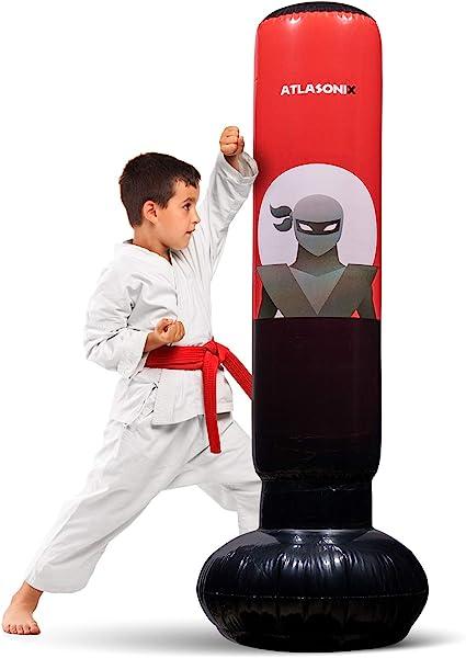 Amazon.com: Saco inflable para niños – Bolsa de boxeo Ninja ...