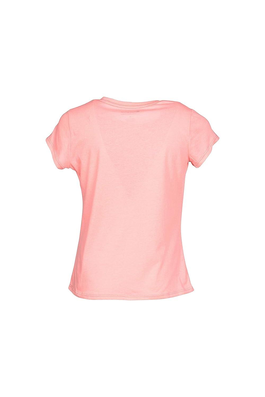 353b52ec Amazon.com: Champion Girls Heritage Long Sleeve Logo Tee Shirt (Small, Pink  Bow): Clothing