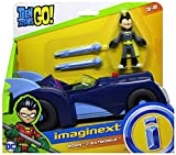 Teen Titans Go Imaginext Robin Figure & Batmobile