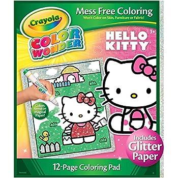 Amazon Crayola Frozen Color Wonder Overwrap Toys Amp Games