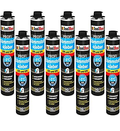 Pegamento 8 Azucarero de 750 ml Espuma adhesivas Perimeter Juego WDVS pegamento para aislamiento