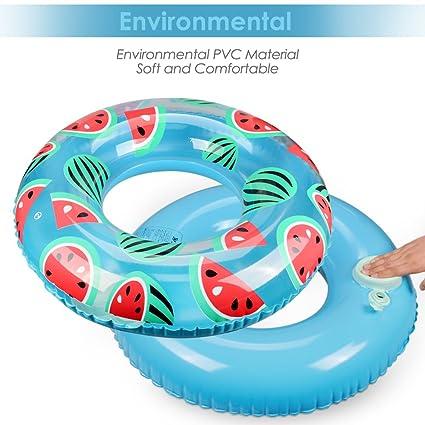 Olycism Flotador inflable de la piscina del flamencopara el anillo de la natación del aire de la estera del Sunbathe (Uomo: 31.5 pulgadas): Amazon.es: ...
