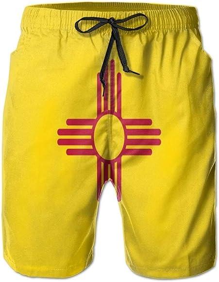 HEAGRWGRE Marcar New Mexico Classic Pantalones de Playa para ...