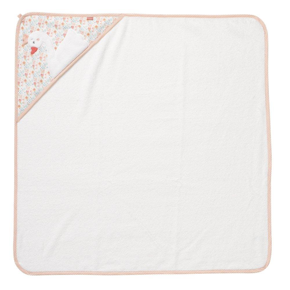 fehn 062199 fehn 062199 Toalla con capucha Cisne | - Poncho de baño de algodón con cisne Diseño para bebés y niños pequeños a partir de 0 + meses, ...