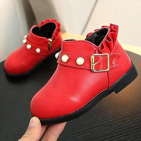 Prevently nuovo autunno e inverno ragazze dei bambini moda Martin sneaker inverno spesso Snow Baby scarpe casual Great YPCJdsmrDa
