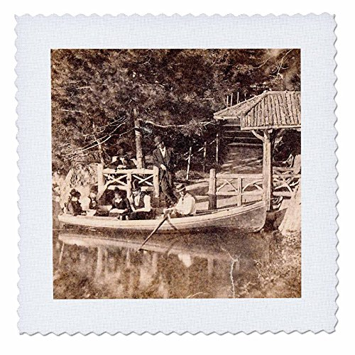 Reviews/Comments 3dRose Scenes from the Past Magic Lantern Slides - New York City Boat Landing Central
