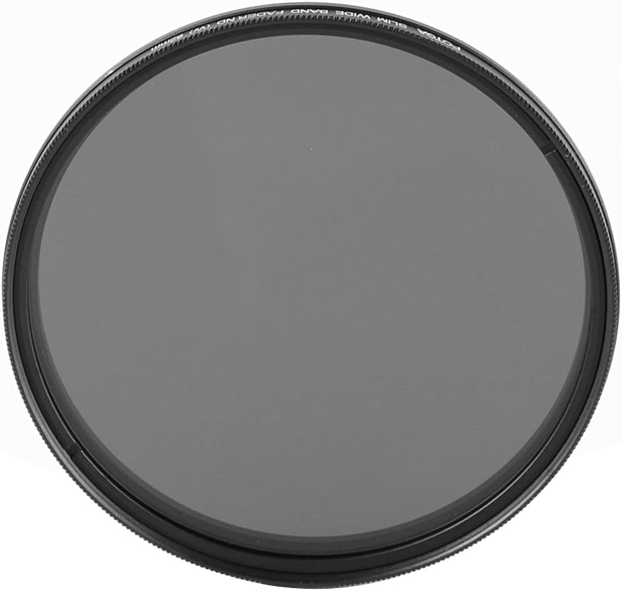 Ruili 52mm Slim Fader Variable ND Filter Neutral Density Adjustable ND2 to ND400 Lens Filter for DSLR Cameras