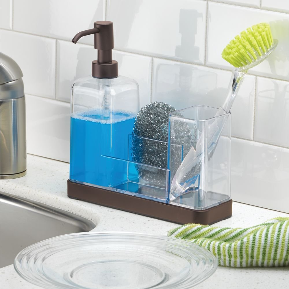 Amazon.com - InterDesign Forma Kitchen Caddy with Soap Dispenser ...
