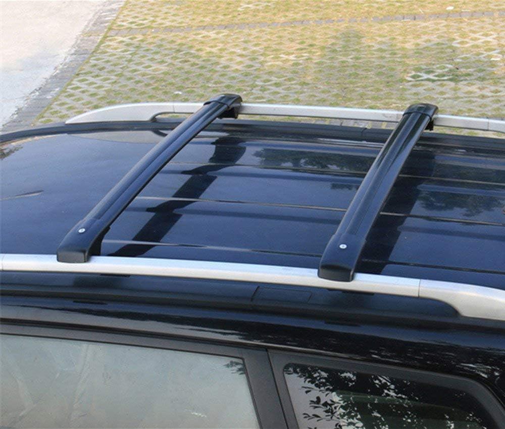 Black Adjustable Cross Bars Crossbars Roof Racks Baggage Luggage Rail for Mercedes Benz X204 GLK 2009-2015