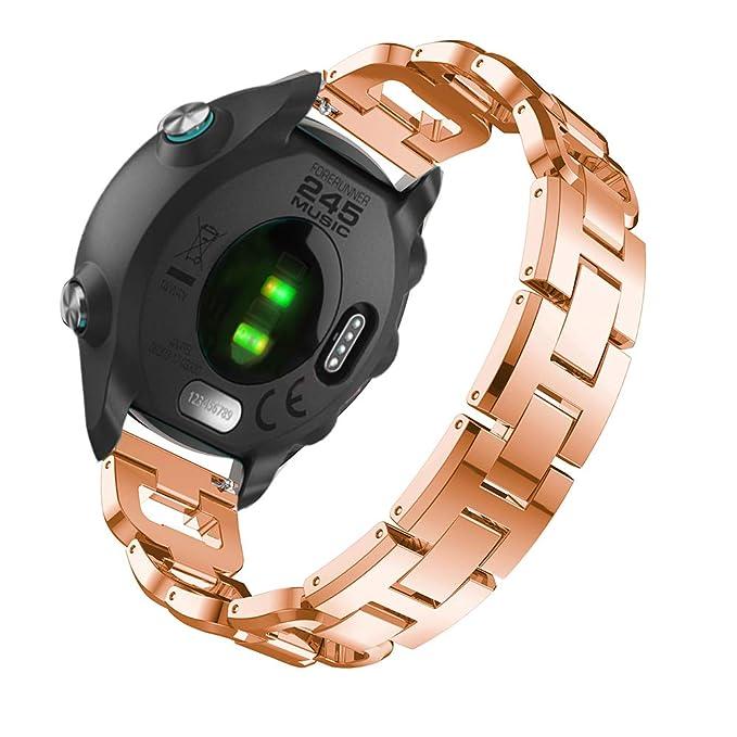 Correa de Repuesto para Reloj Garmin Forerunner 245 para ...