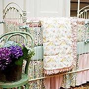Carousel Designs Love Birds 3-Piece Crib Bedding Set