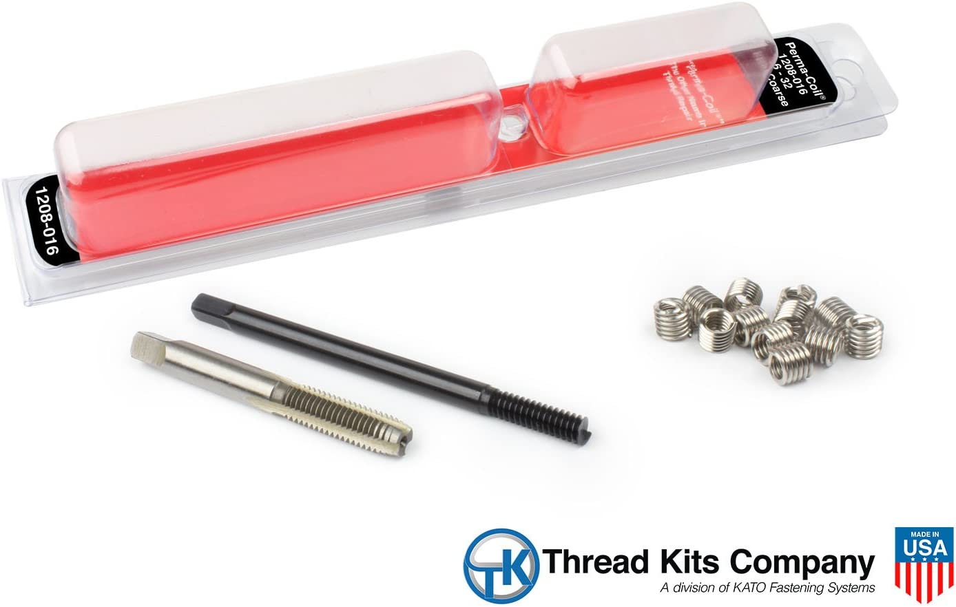 Drill America HEL5402-4 Helicoil Kit 1//4-28