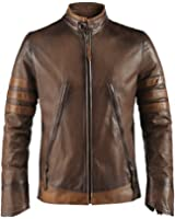 X-Men Origins Mens Leather Jacket