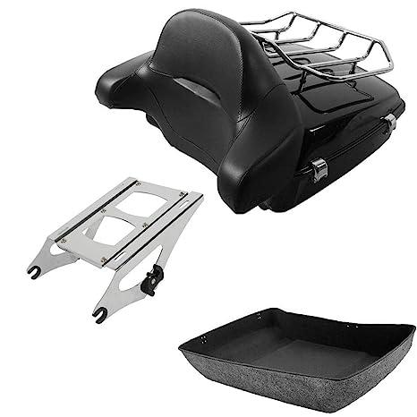 TCMT Chopped Tour Pack Trunk Backrest Luggage Rack Mounting Rack Docking Hardware Fit For Harley Road Street Glide 2014-2020