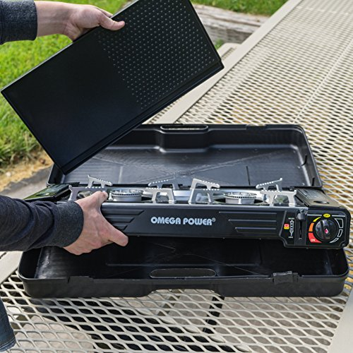 Portable Stove Top and Outdoors, by Gas Leaderware