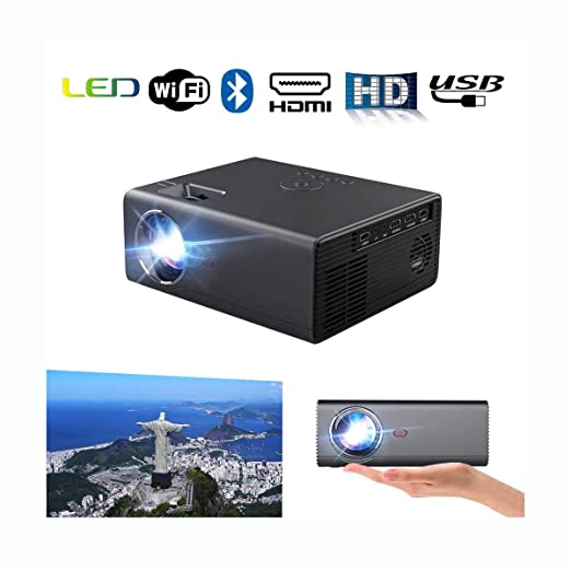 Ai LIFE Proyector LED Bluetooth Proyector inalámbrico ...