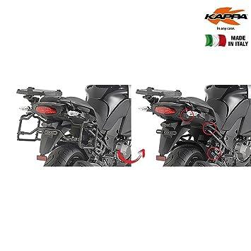 klxr4113 Porta Maletas Laterales Kawasaki Versys 1000 (2015): Amazon.es: Coche y moto