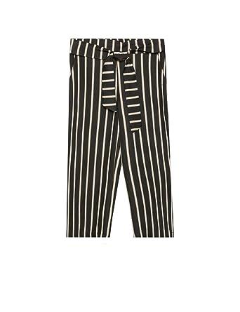 enorme sconto 607f7 1381f Fiorella Rubino : Pantaloni Cropped rigati (Italian Plus Size)