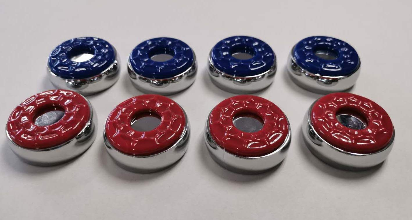 Empire USA Premium Shuffleboard Pucks (Set of 8) by Empire USA