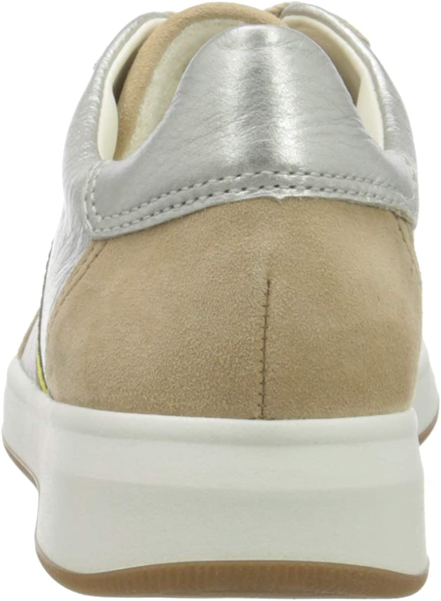 ARA Women's Low-Top Sneakers Brown Camel Weissgold 08