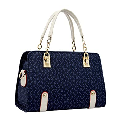 Women Satchel Handbags Shoulder Bags Crossbody Bags Purses Totes Hobo Blue
