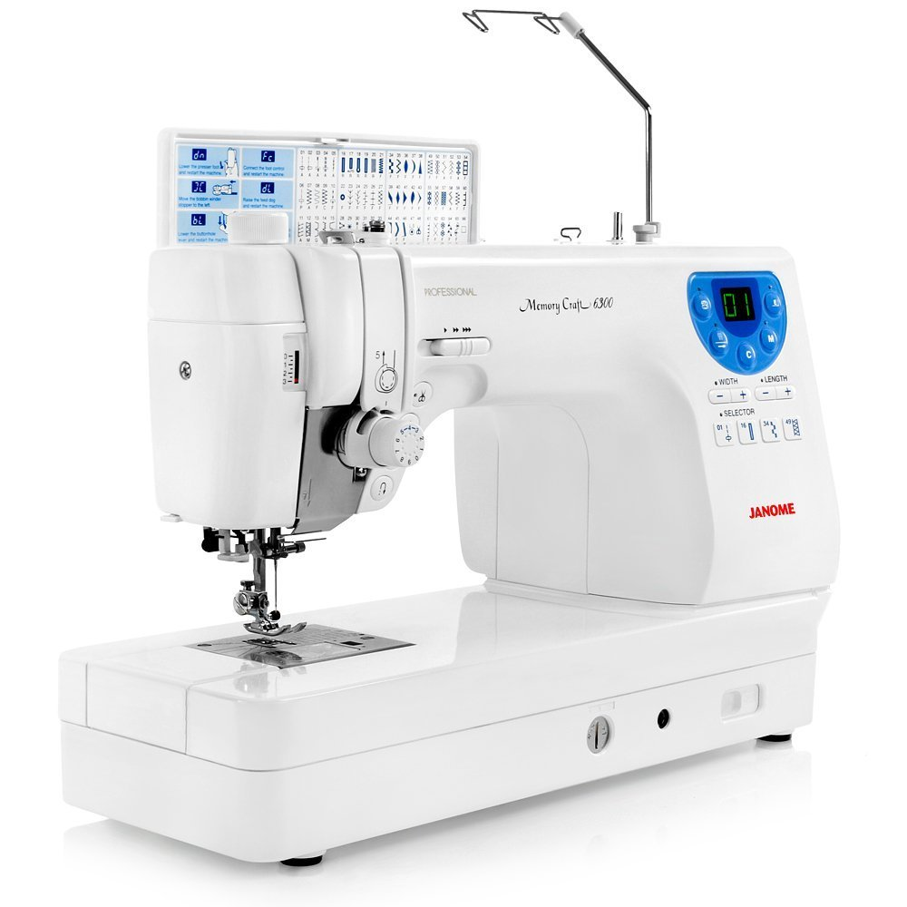 Janome memory craft 6500p - Amazon Com Janome Memory Craft 6300 Professional Sewing Quilting Machine With Accessories