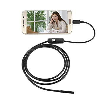 Útil 6.5 ft largo Smartphone Android endoscopio USB Cámara de ...