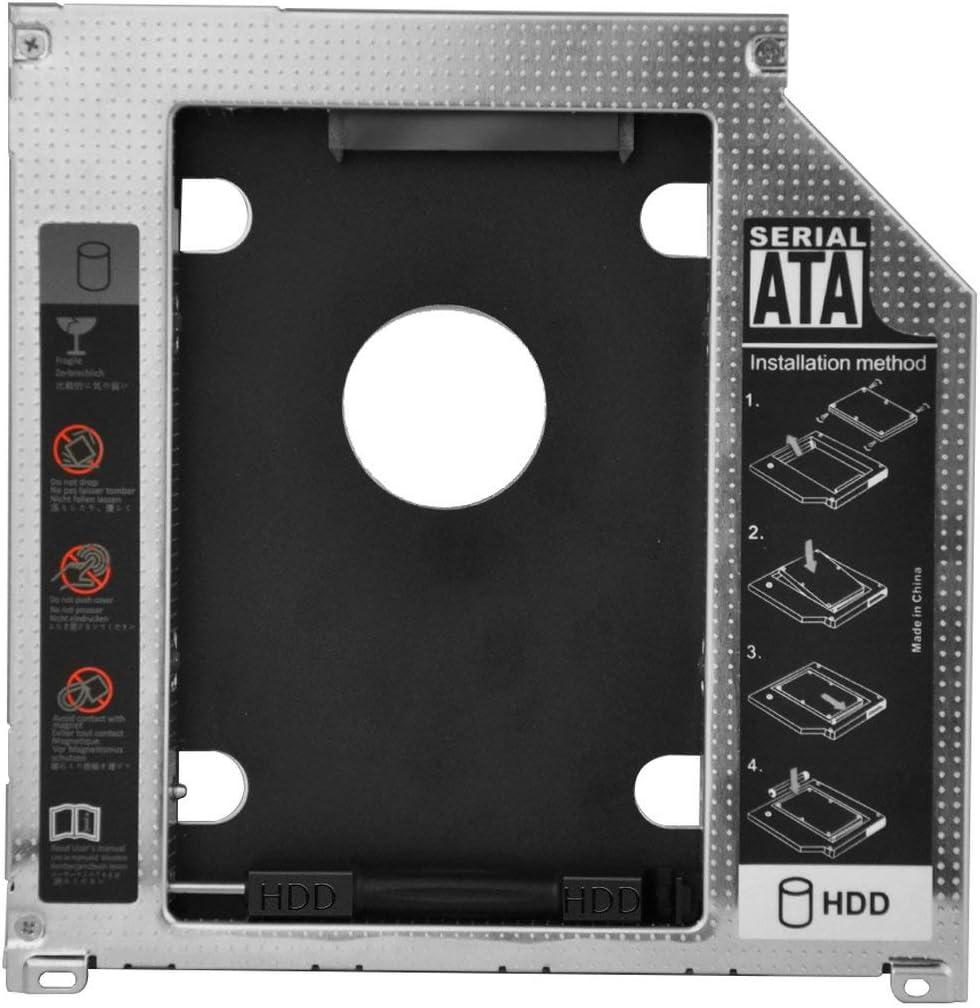 """2.5"""" 9.5mm SATA 2nd HDD SSD Hard Drive Caddy Adapter: Amazon.co.uk:  Electronics"""