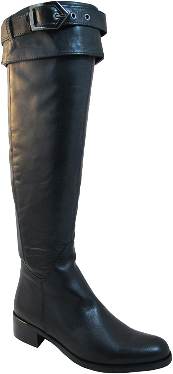 Knee Italian Leather Boots Imolia