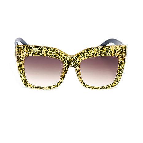 ChenYongPing Gafas de Sol para Mujer Gafas de Sol Retro para ...