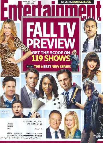Charlie Hunnam, Norman Reedus, Sarah Michelle Gellar, Kerry Washington, 2013 Fall TV Preview - Entertainment Weekly Magazine